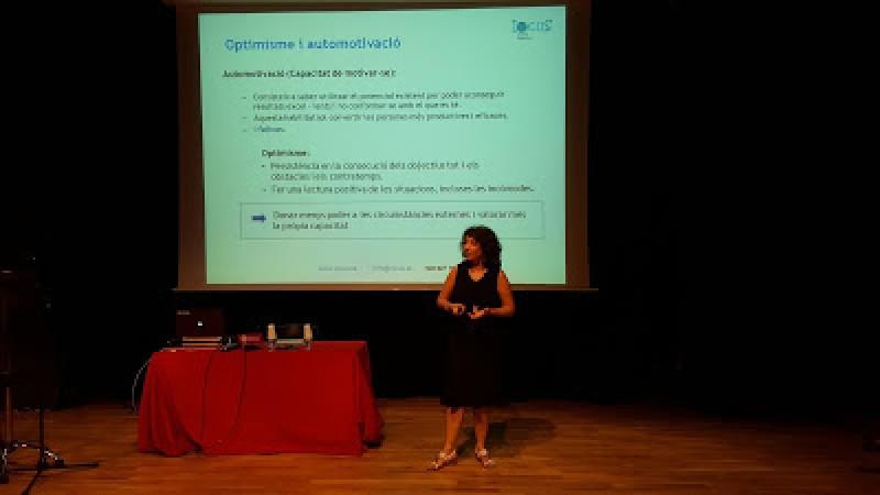Conferència Optimisme, Efectivitat i Qualitat de Vida.