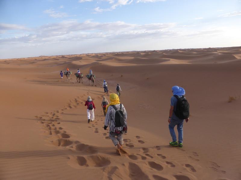 Caravana en el desierto Otoño 2020